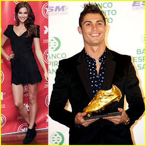 Cristiano Ronaldo Receives The 2011 Golden Shoe