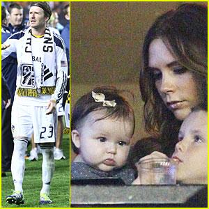David Beckham: L.A. Galaxy Wins MLS Cup!