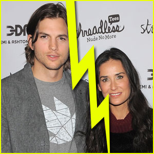 Demi Moore & Ashton Kutcher Split
