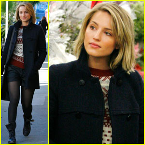 Dianna Agron: Christmas Decorations Shopping!