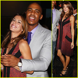 Elisabetta Canalis & Mehcad Brooks: Beauty Book Launch!