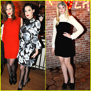 Dita Von Teese &#038; Elle Fanning: Lanvin Ladies