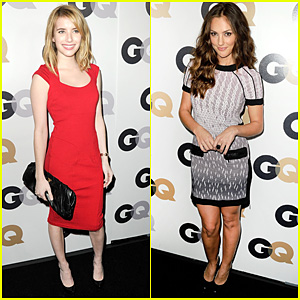 Emma Roberts & Minka Kelly: 'GQ' Men of the Year Party!