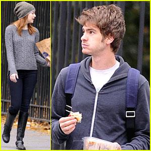 Emma Stone & Andrew Garfield: New York Stroll!