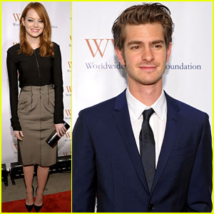 Emma Stone & Andrew Garfield: Orphans Foundation Gala Duo