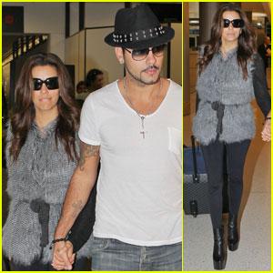 Eva Longoria & Eduardo Cruz Make It to Miami