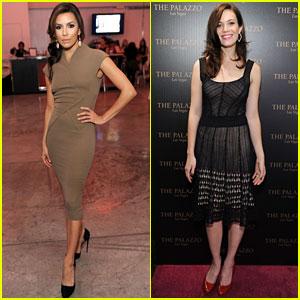 Eva Longoria & Mandy Moore: Hollywood Style Awards!