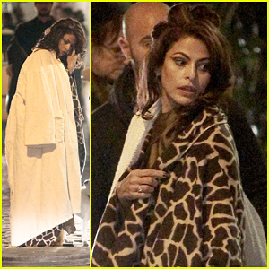 Eva Mendes: On Set of 'Holly Motors'
