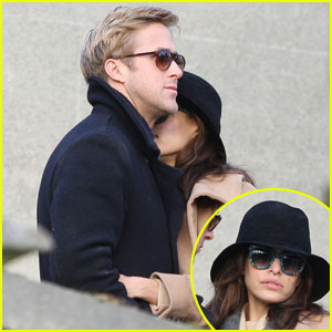 Ryan Gosling &#038; Eva Mendes: Parisian Pair
