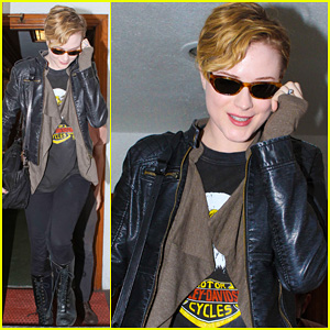 Evan Rachel Wood: Dentist Visit