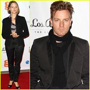 Ewan McGregor & Jodie Foster: GO GO Gala!
