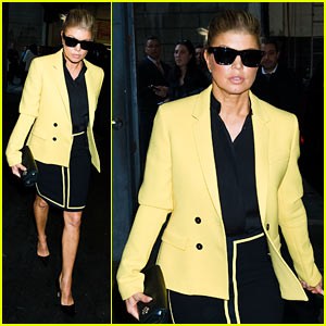 Fergie is Mellow Yellow