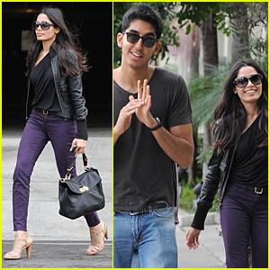 Freida Pinto & Dev Patel: Barney's Bunch