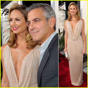 George Clooney & Stacy Keibler: 'Descendants' Duo