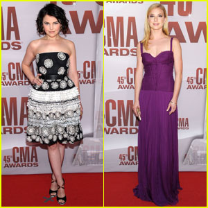 Ginnifer Goodwin & Emily VanCamp - CMA Awards 2011