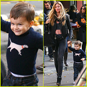 Gisele Bundchen: Extra Virgin Lunch with Benjamin Brady!