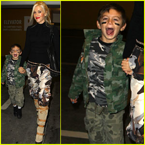Gwen Stefani & Kingston: Target Twosome!