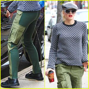 Gwen Stefani: Two-Faced Pants!