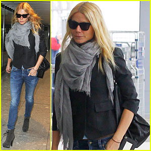 Gwyneth Paltrow Celebrated Thanksgiving in London