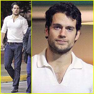 Henry Cavill: Back to Canada for 'Man of Steel'