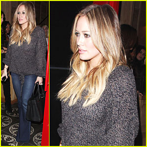 Hilary Duff: Dinner with Haylie & Mike!