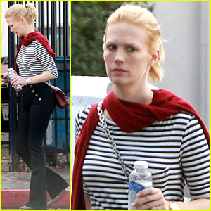 January Jones: Arbys Lady!
