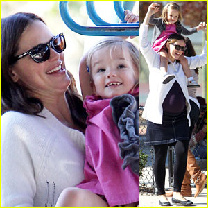 Jennifer Garner: Playtime with Seraphina!