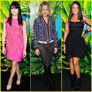 Jennifer Hudson & Abbie Cornish: Versace for H&M Party!