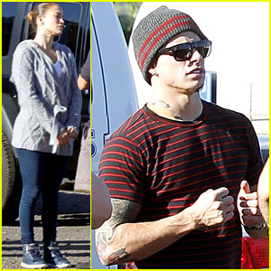 Jennifer Lopez & Casper Smart: Hawaiian Helicopter Ride!