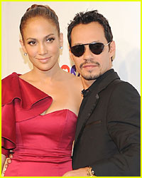 Marc Anthony & Jennifer Lopez Reunite - Sort Of