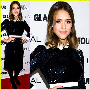 Jessica Alba: Glamour Awards Gal!