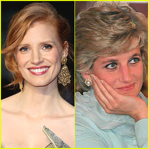 Jessica Chastain: Princess Diana in 'Caught in Flight'!