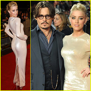 Johnny Depp & Amber Heard: 'Rum Diary' Premiere in London!