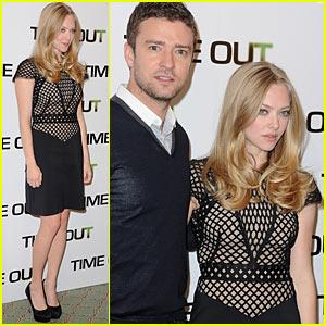 Amanda Seyfried & Justin Timberlake: Time Out!