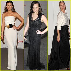 Kate Beckinsale & Elisabeth Moss: LACMA Gala Gorgeous!