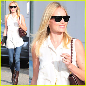 Kate Bosworth: Byron & Tracey Salon Visit
