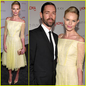 Kate Bosworth: LACMA Gala with Michael Polish