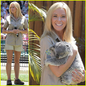 Kate Gosselin: Australia Zoo With the Irwin Family!