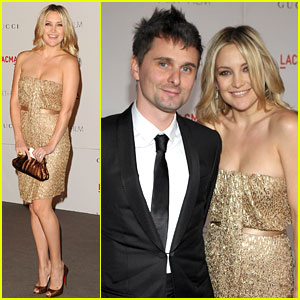 Kate Hudson: LACMA Gala with Matt Bellamy!