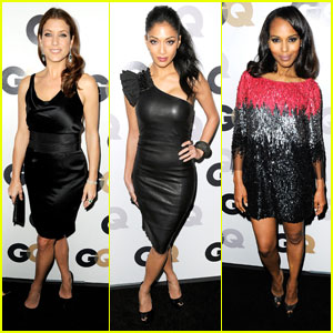 Kate Walsh & Nicole Scherzinger: GQ Party People!