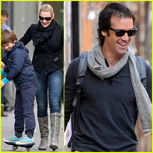 Kate Winslet & Ned Rocknroll: NYC Stroll with Mia & Joe!