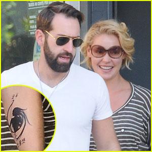 Josh Kelley: Tattoo for Katherine Heigl & Naleigh!