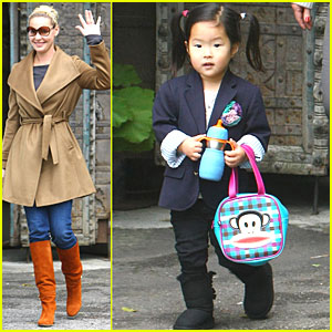 Katherine Heigl Lunches with Naleigh & Nancy