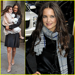 Katie Holmes: 'Late Show' with Letterman Visit!