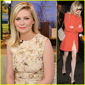 Kirsten Dunst: 'Melancholia' Talk on GMA!