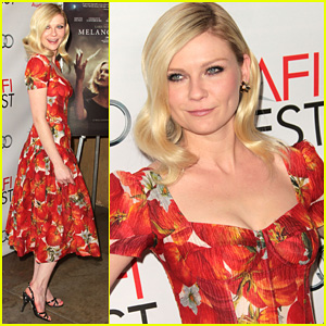 Kirsten Dunst: Hollywood 'Melancholia' Screening!