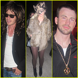 Kirsten Dunst: Maroon 5 Halloween Party!