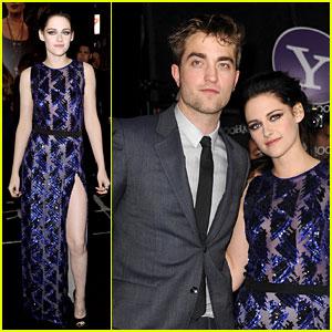 Kristen Stewart & Robert Pattinson: 'Twilight' Premiere Twosome!