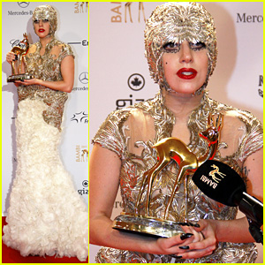 Lady Gaga: Bambi Awards in Germany!