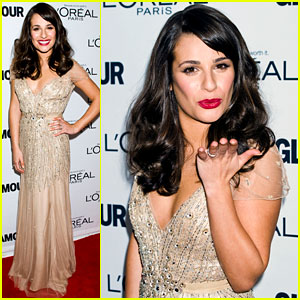 Lea Michele: Glamour's Women of the Year Awards!